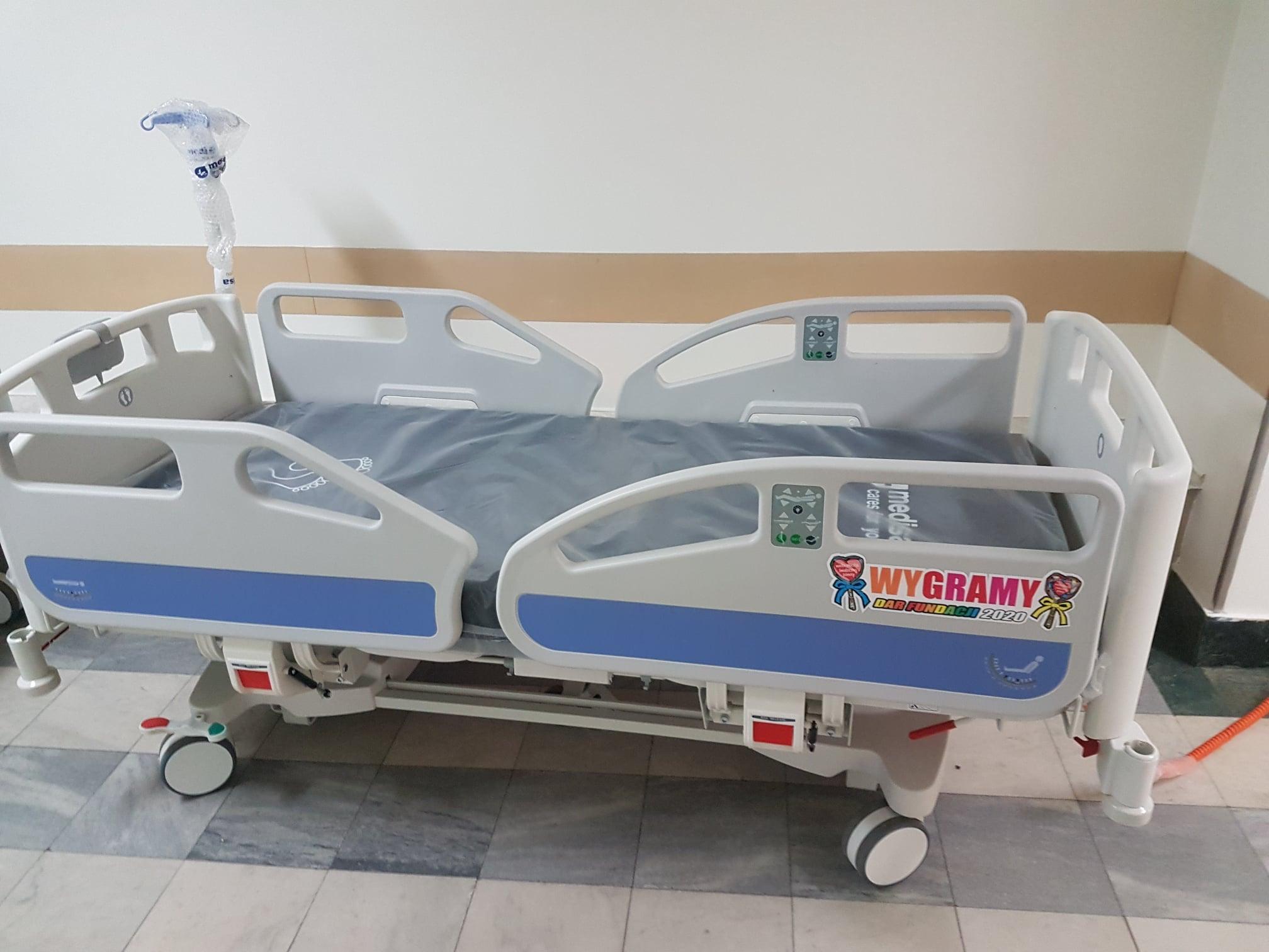 Łóżko - WOŚP - szpital