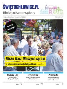 """Okładka gazety """"Biuletyn Samorządowy Świętochłowice.pl"""""""