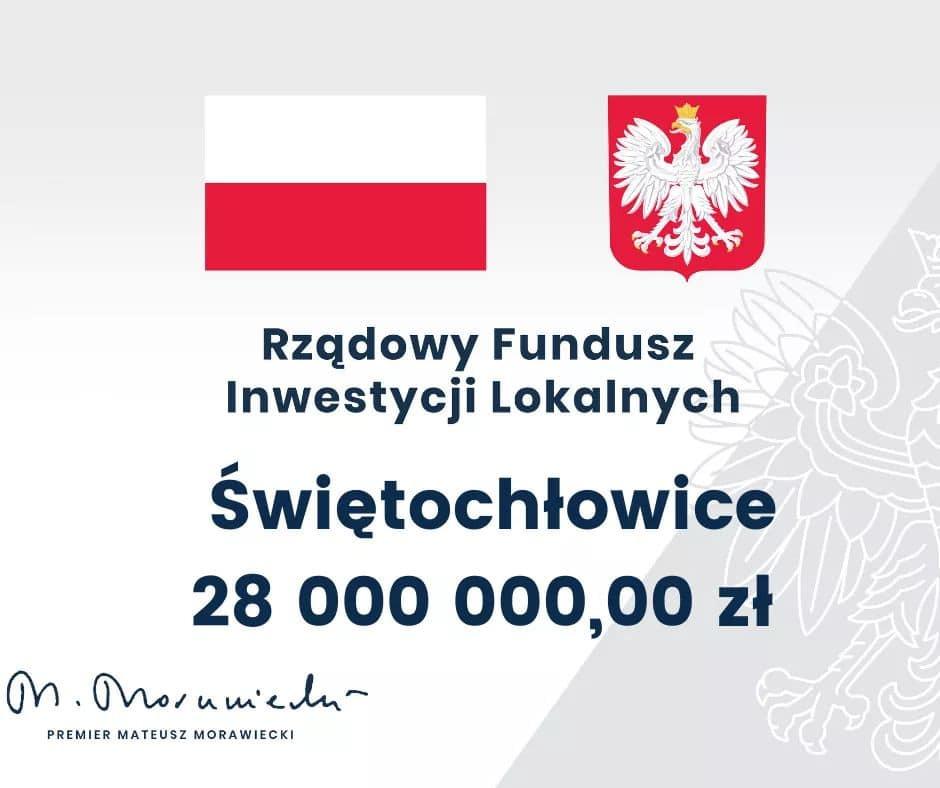28 mln zł dla Świętochłowic