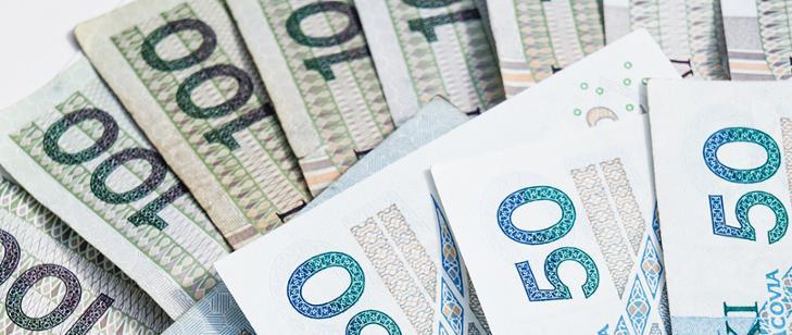Pieniądze (banknoty) 100 i 50 zł