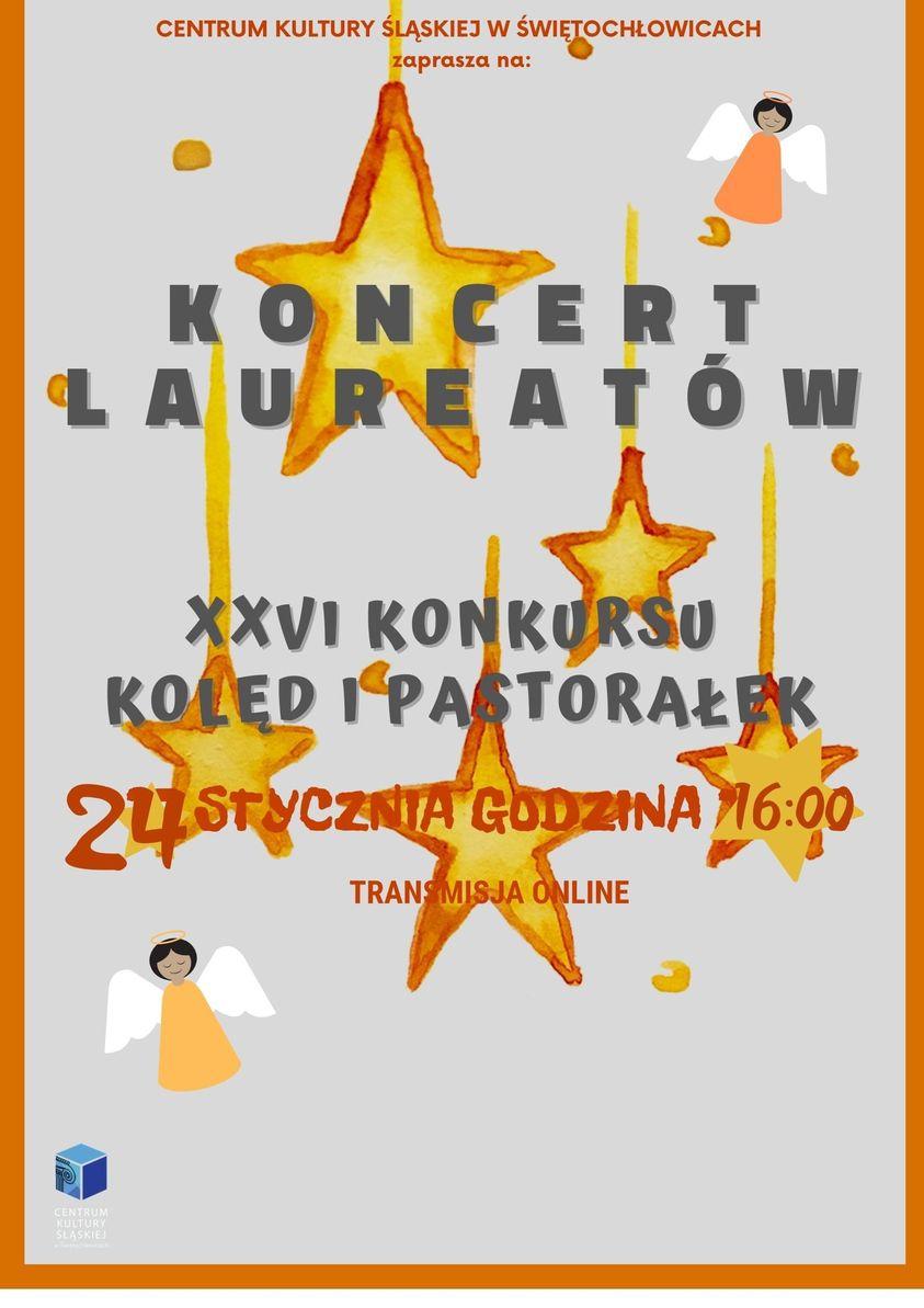 plakat koncertu kolęd i pastorałek
