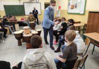 prezydent z wizytą w szkole