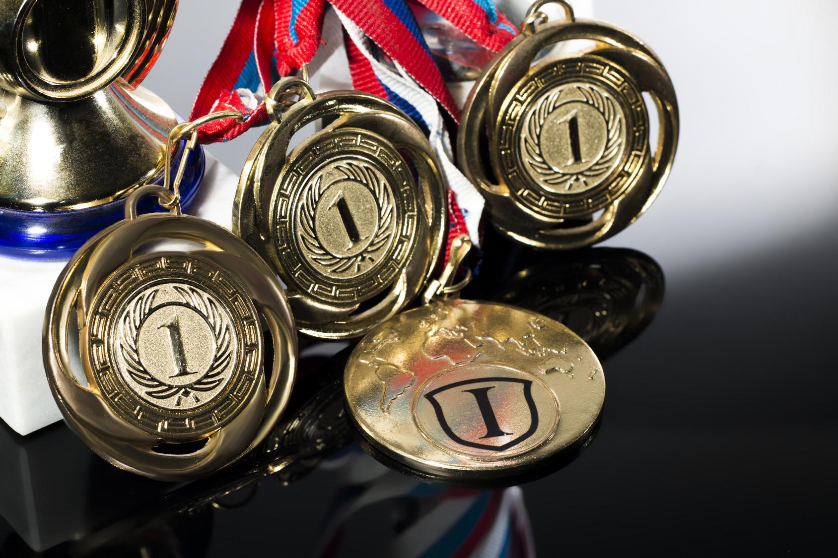 Medale złote