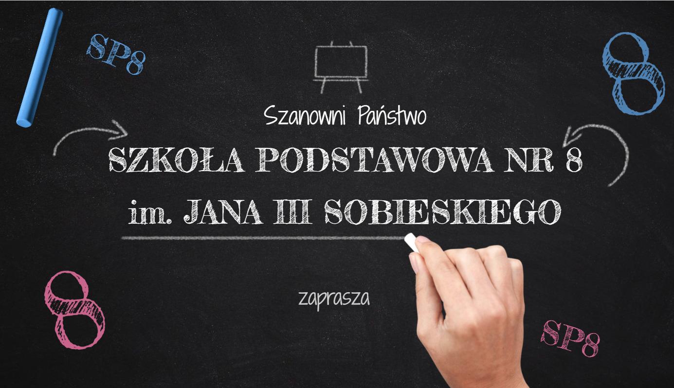 plakat Szkoła Podstawowa nr 8