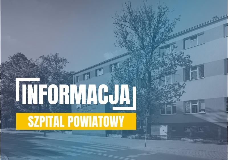 komunikat szpital