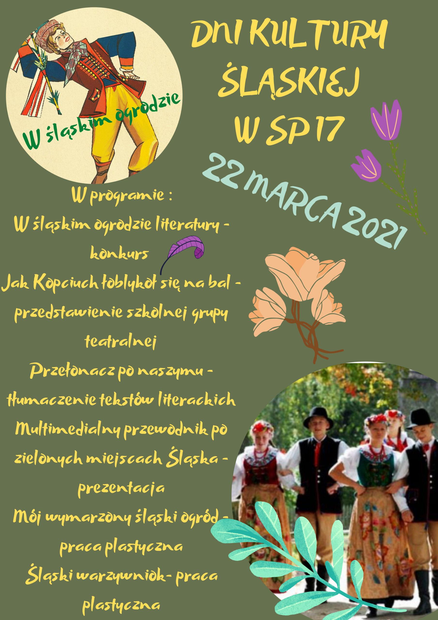 dni kultury śląskiej w SP 17