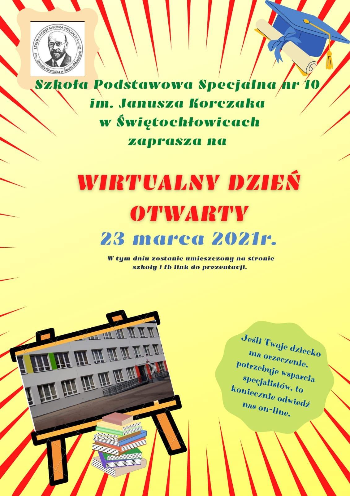 Plakat SPS 10 - dzień otwarty