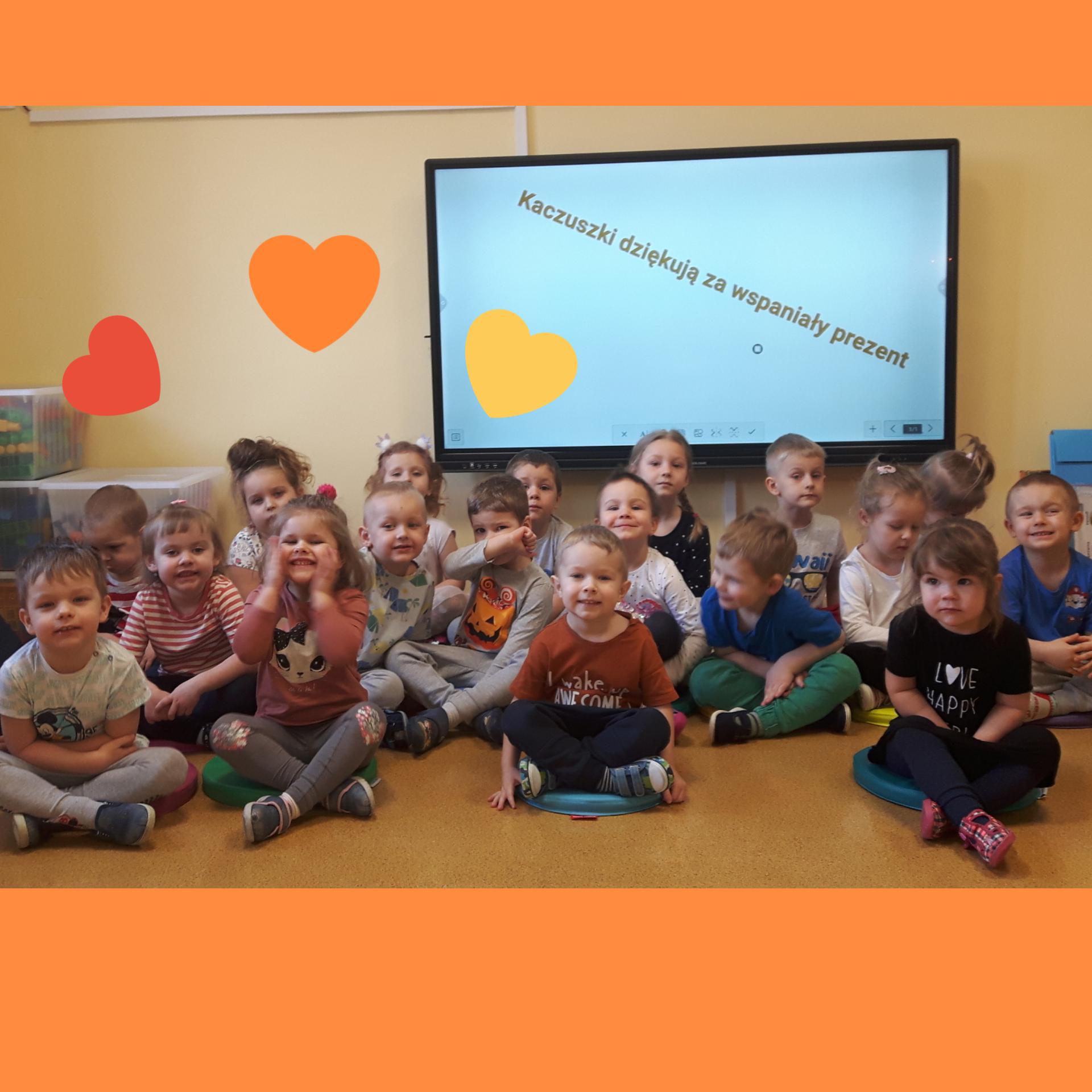 ekrany dotykowe w przedszkolu miejskim nr 4