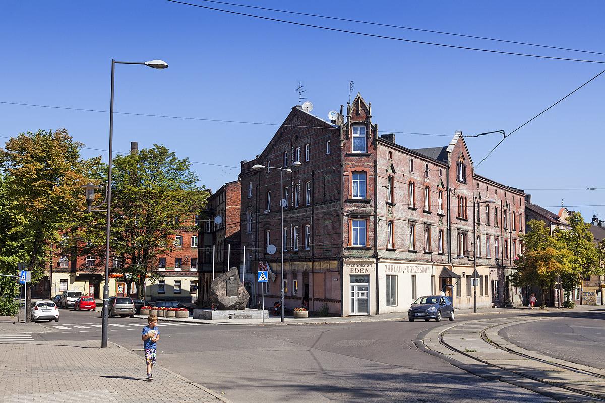 Chropaczów - Ulica Łagiewnicka