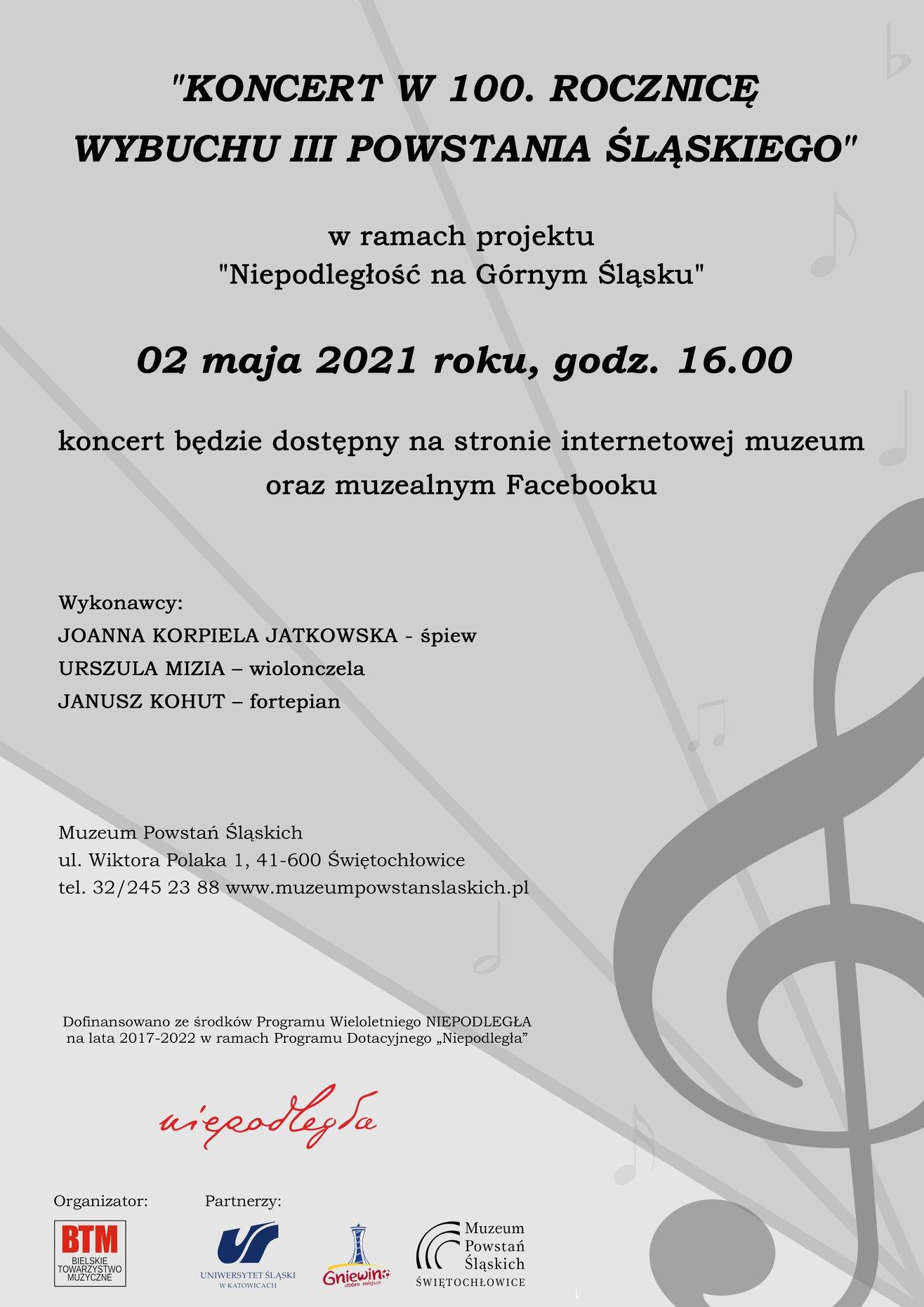 Plakat Powstanie Śląskie