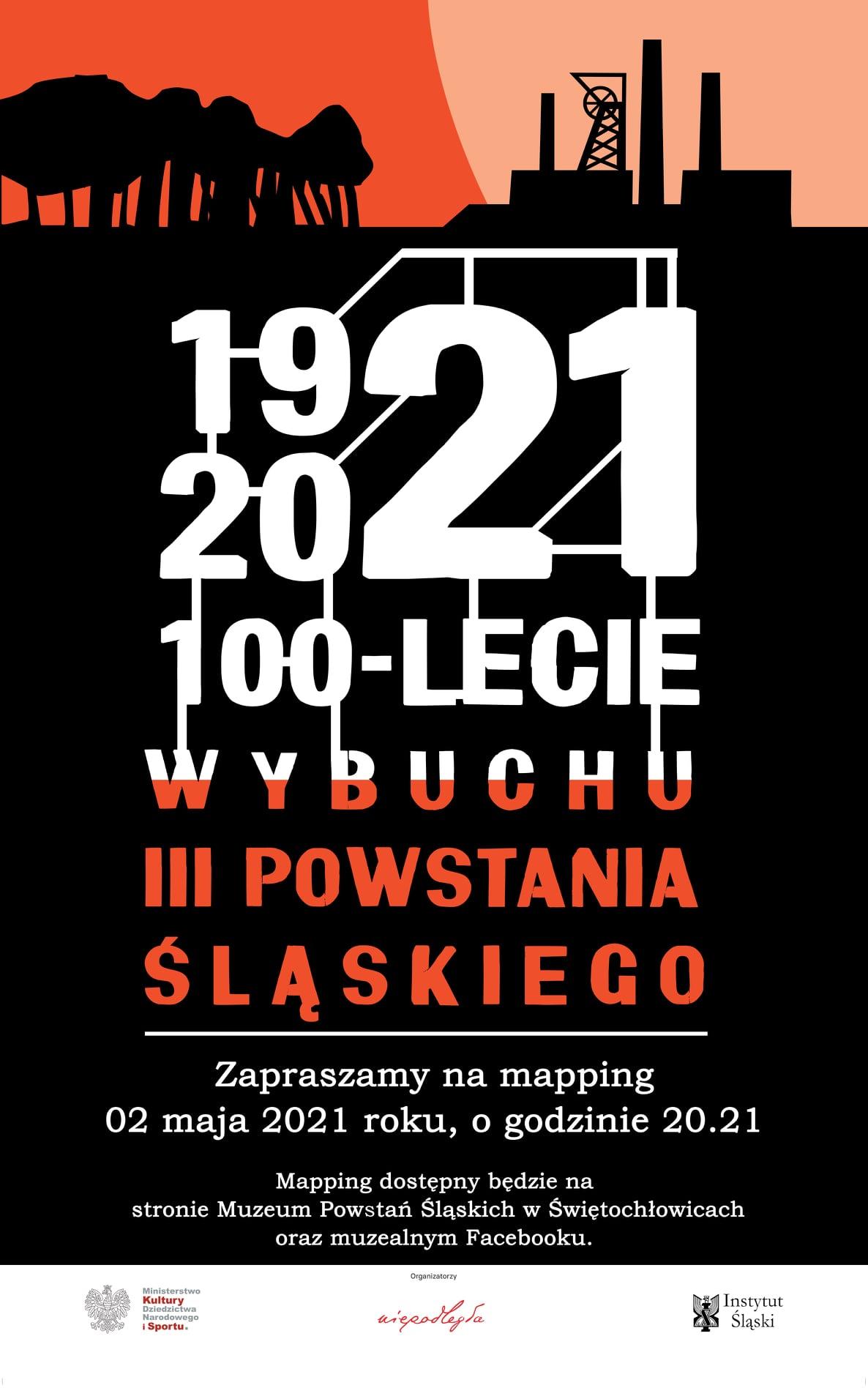 mapping w Muzeum Powstań Śląskich