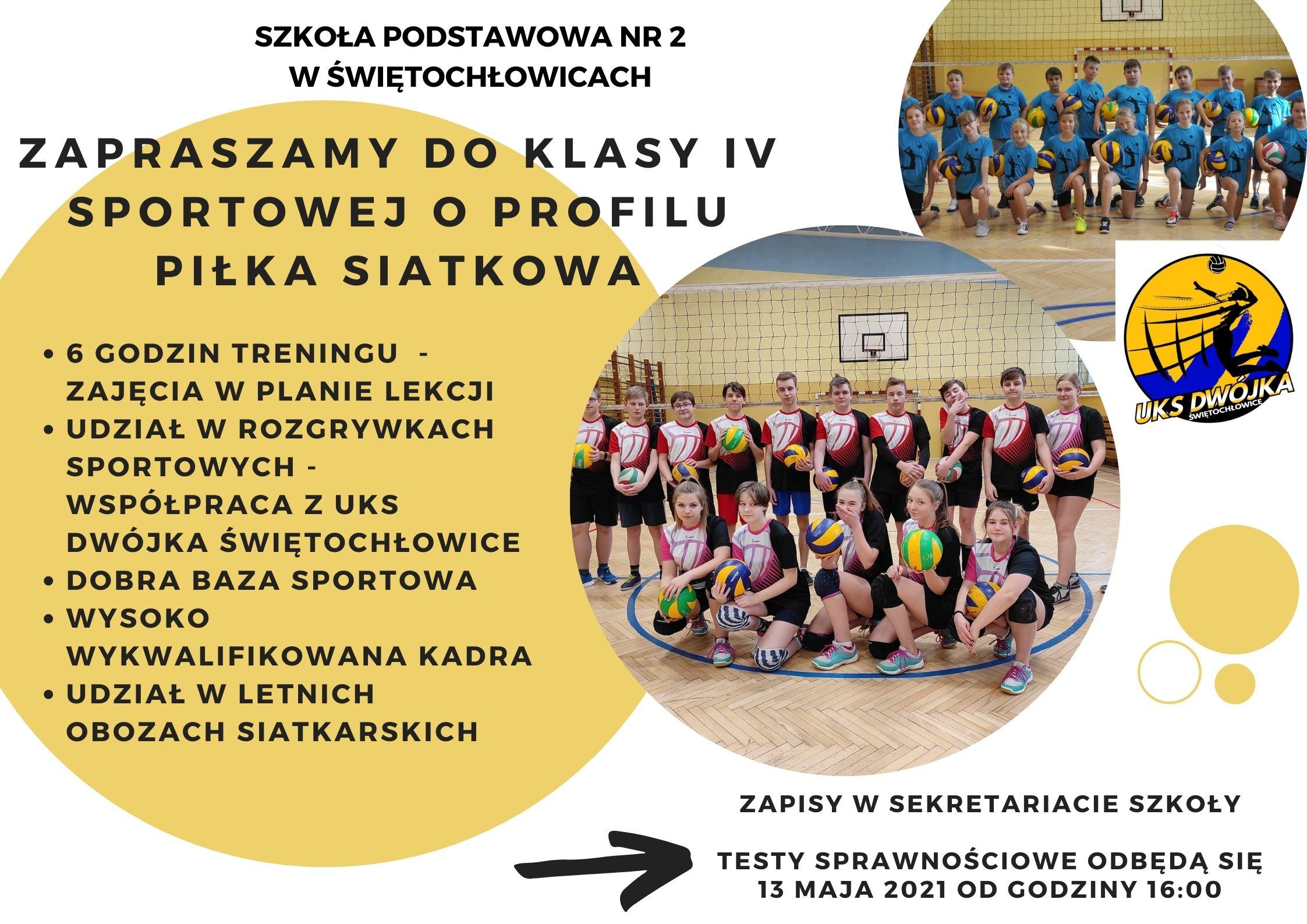 nowa klasa sportowa w SP2