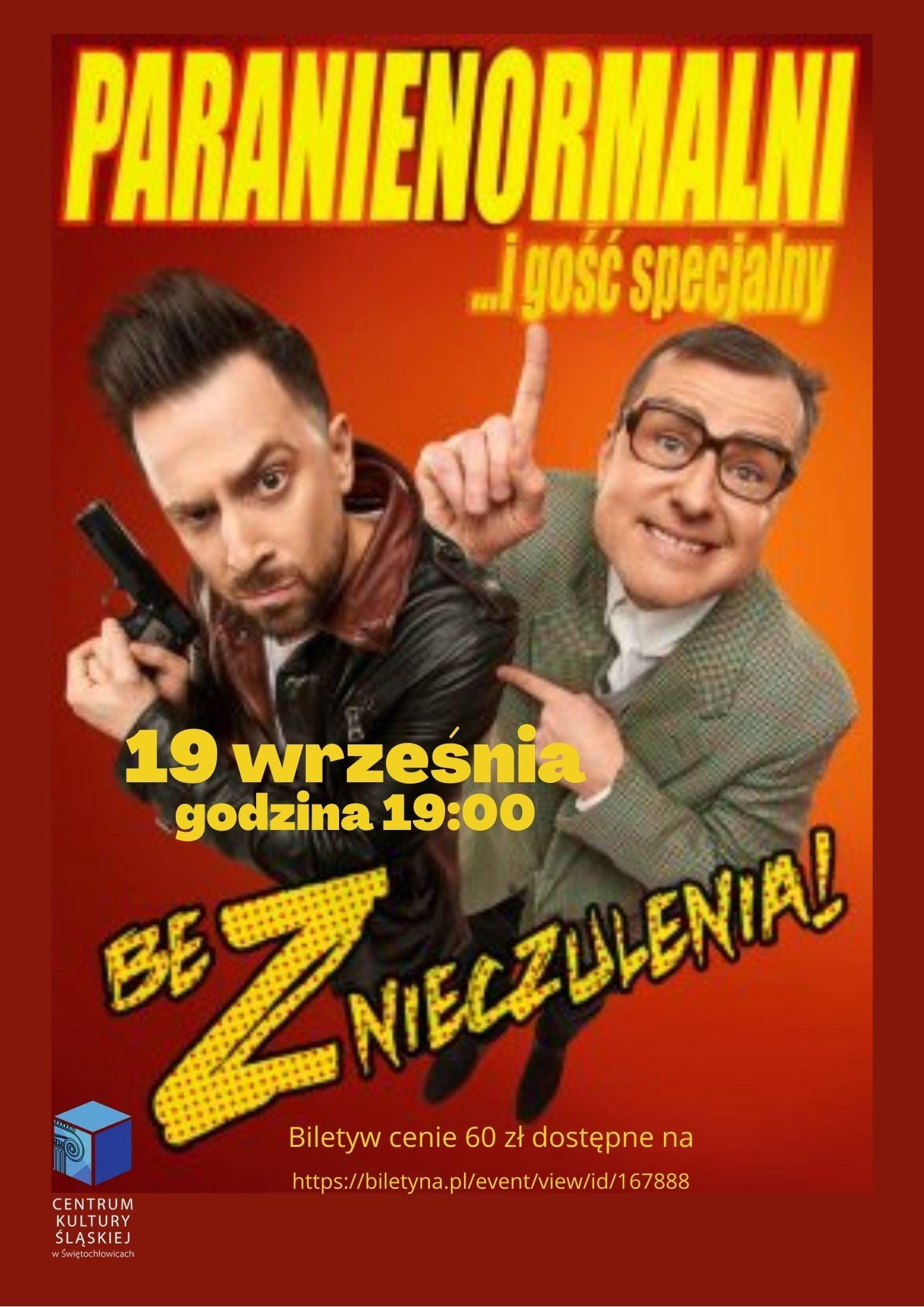 Plakat Paranienormalni