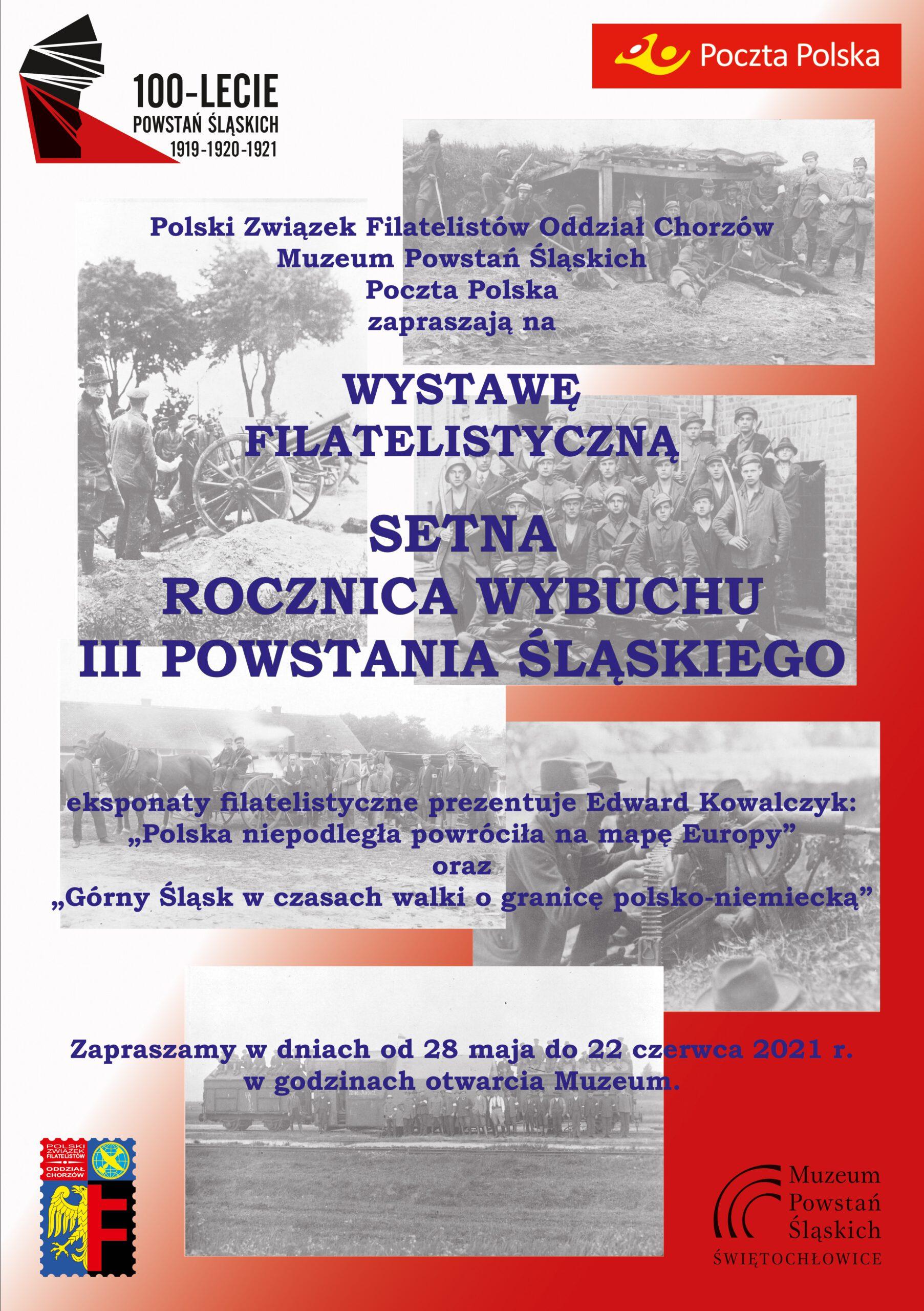 Plakat - wystawa filatelistów