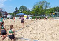 Turniej Plażowej Piłki Ręcznej z okazji Dnia Dziecka