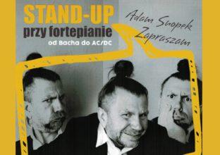 Adam Snopek Stand-Up przy fortepianie