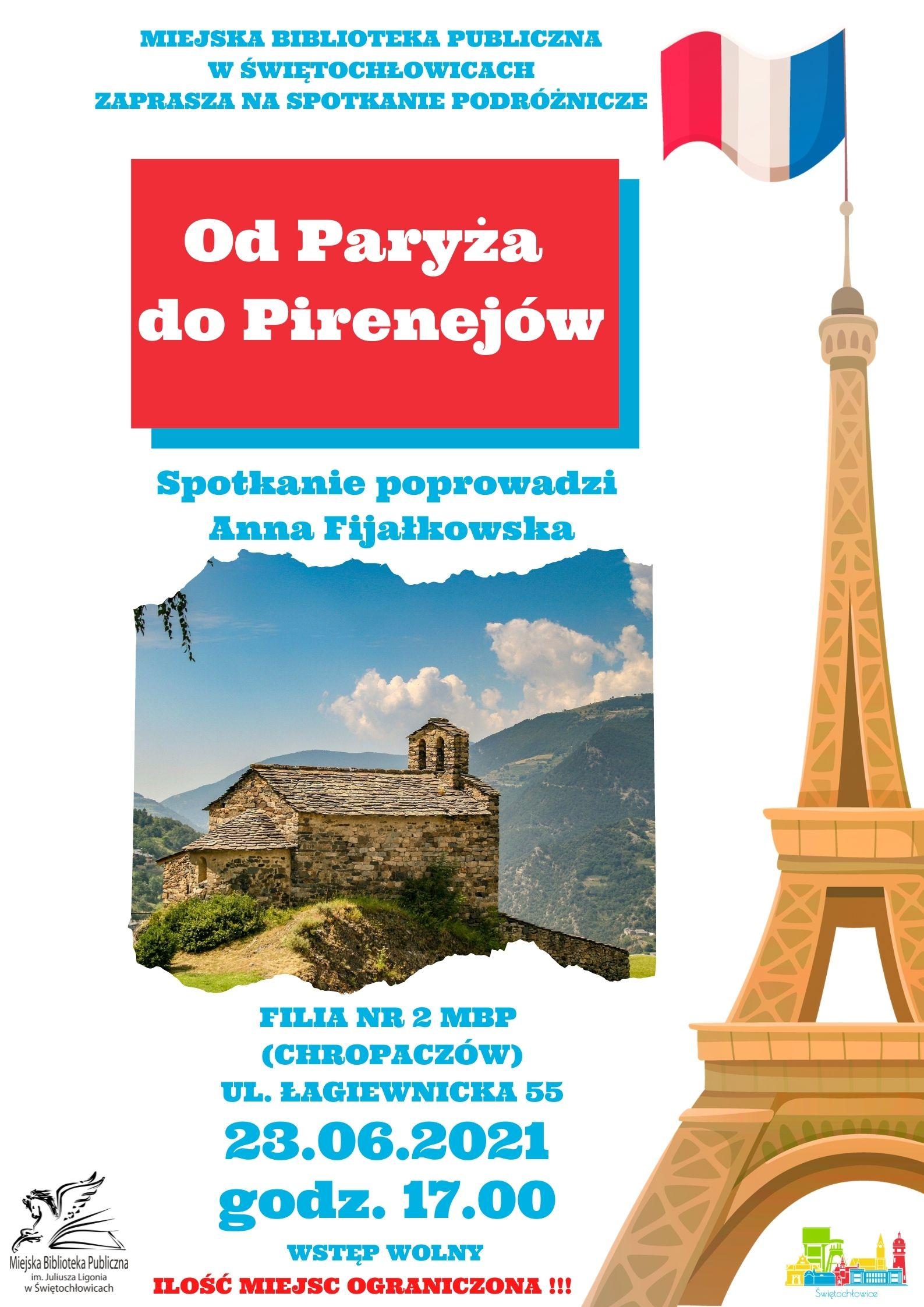 od Paryża do Pirenejów