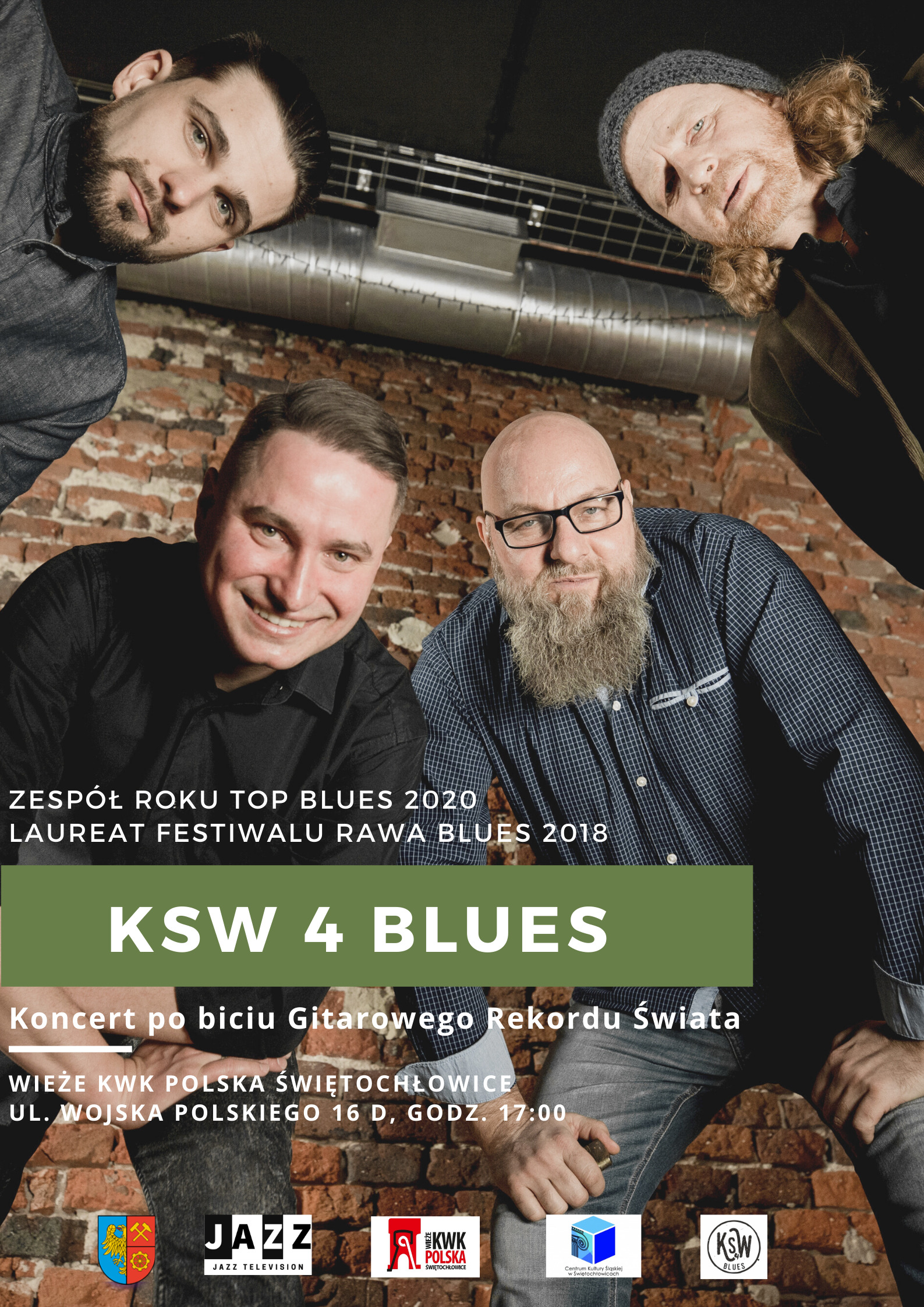 KSW 4 Blues_plakat
