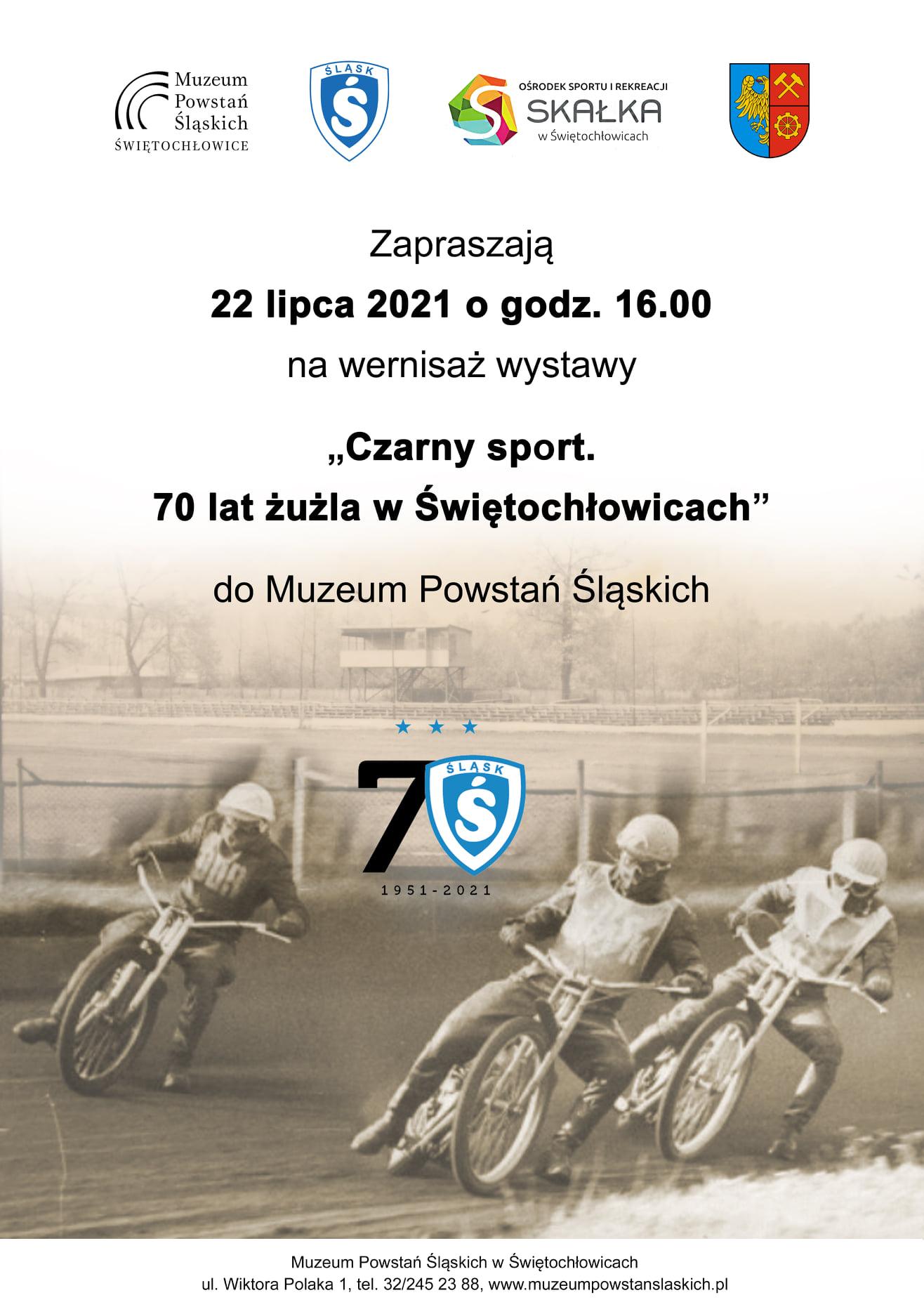 czarny sport 70 lat żużla w Świętochłowicach