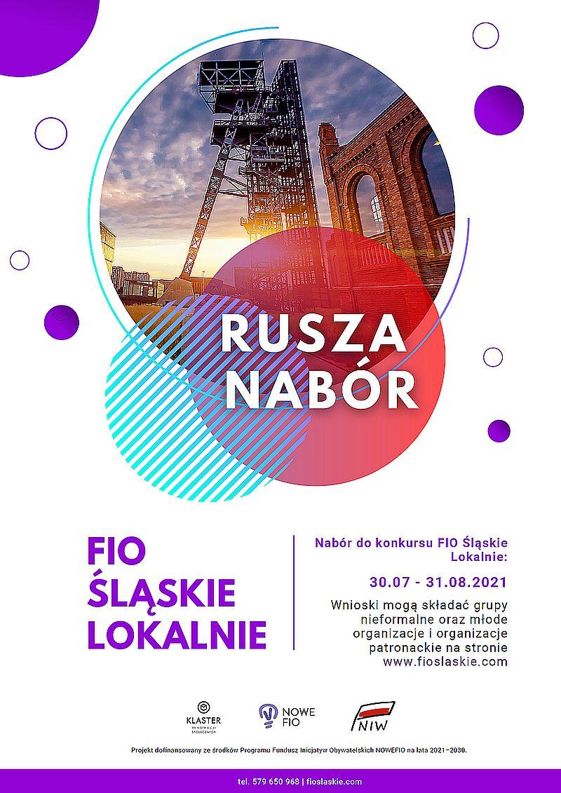 """Konkurs grantowy """"Śląskie lokalnie 2021-2023"""""""