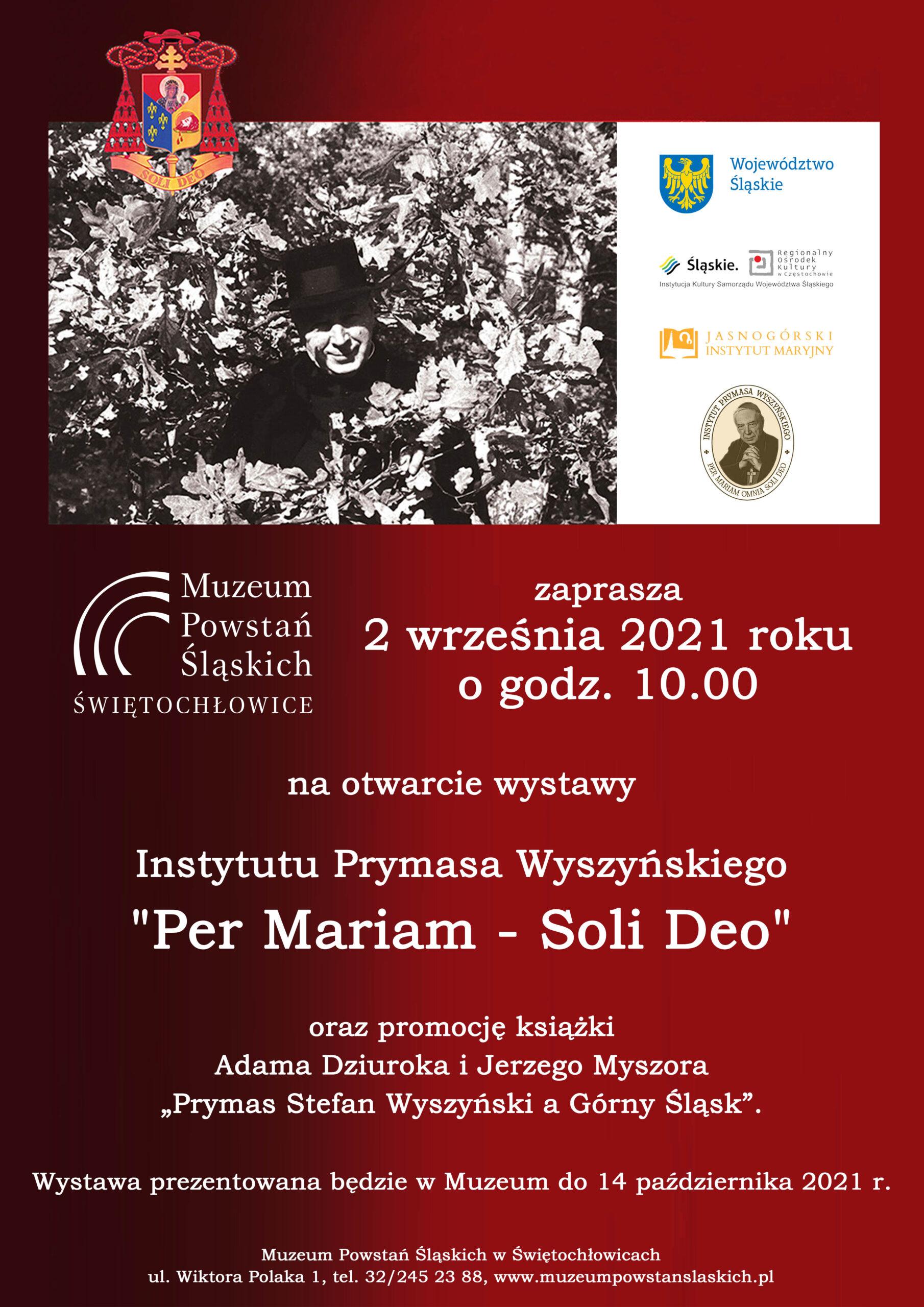 """Wystawa """"Per Mariam - Soli Deo"""""""