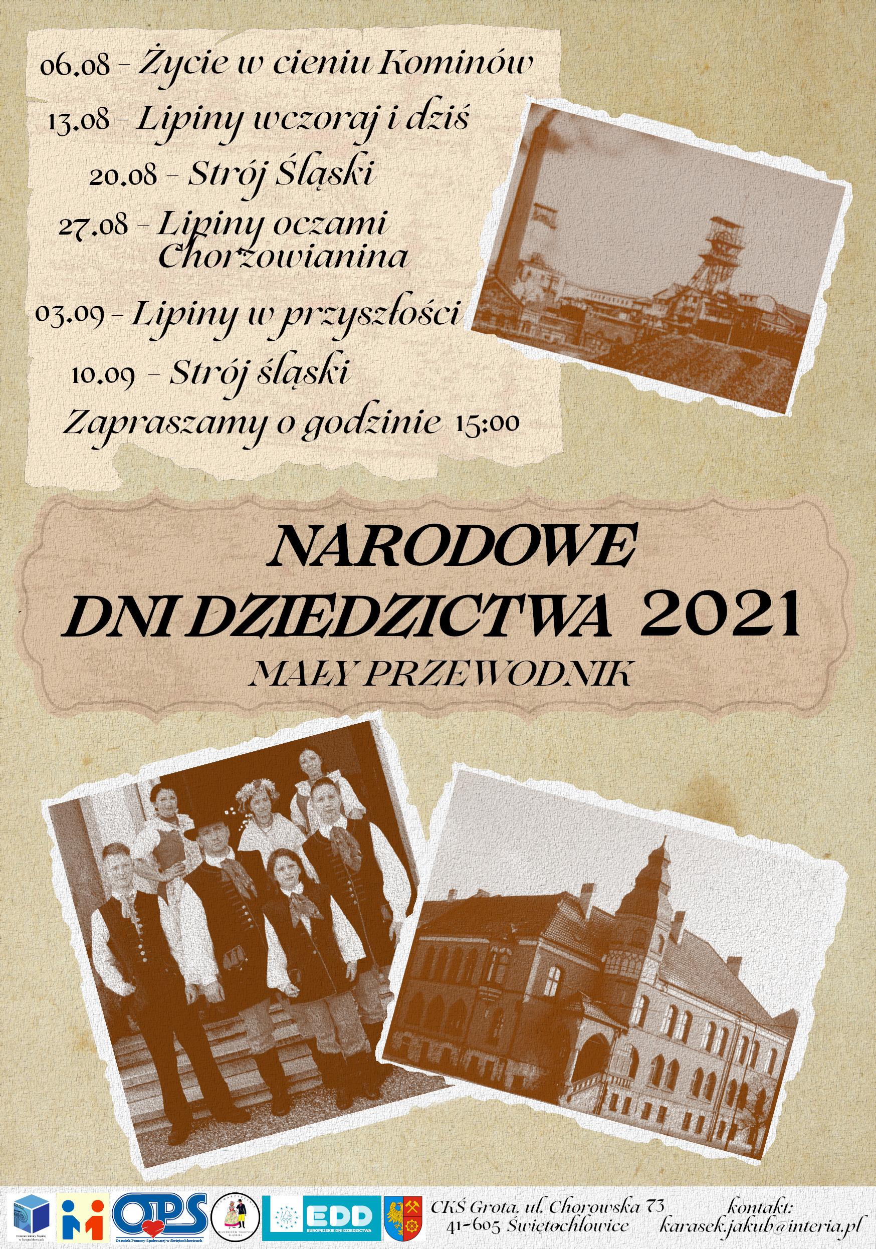Narodowe Dni Dziedzictwa 2021