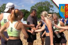 Półfinały Mistrzostw Polski juniorek młodszych w plażowej piłce ręcznej