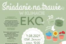Śniadanie na trawie w klimacie EKO