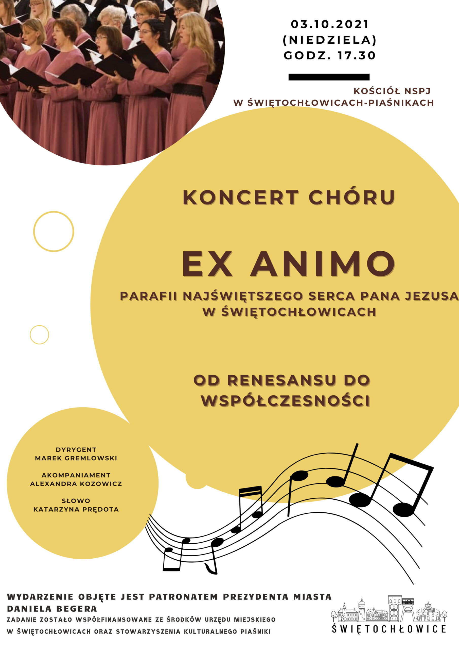 Koncert chóru EX ANIMO