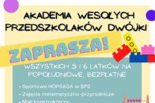 Dwójkolandia – Akademia Wesołych Przedszkolaków przy SP2