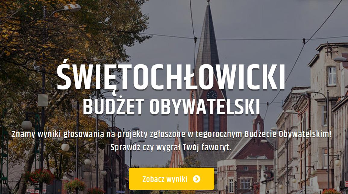 wyniki Budżetu Obywatelskiego na rok 2022